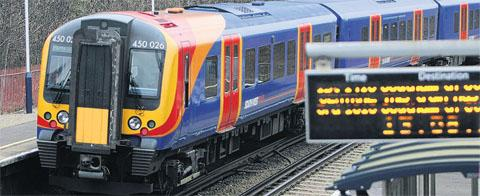 Rail delays after passenger hit by train