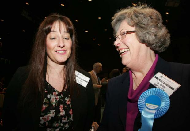 Conservatives celebrate in Fareham