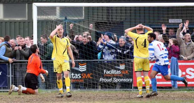 Play-off final agony for AFC Totton
