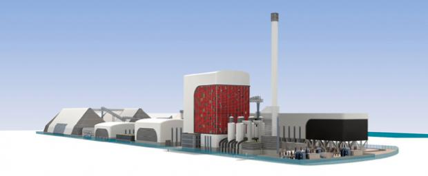 The High-Tech design for Southampton biomass