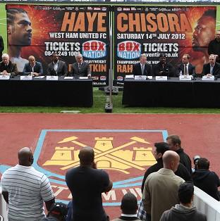David Haye-Dereck Chisora press conference