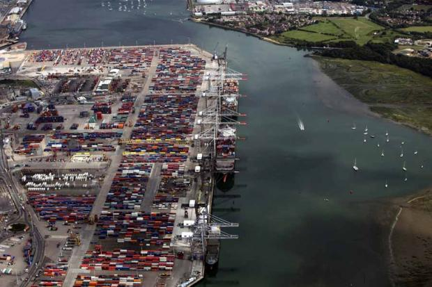 Southampton port freight workers balloted for strike action