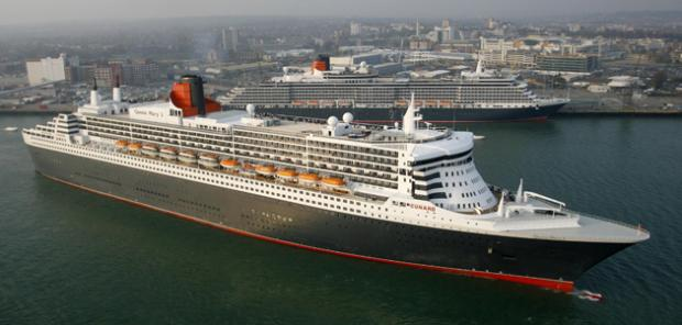 Queen Mary 2 and Queen Victoria