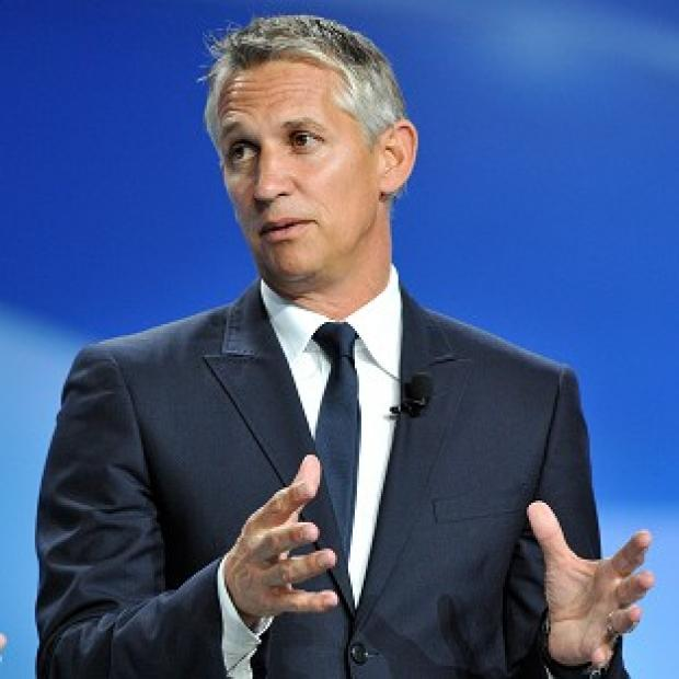 Match of the Day presenter, Gary Lineker
