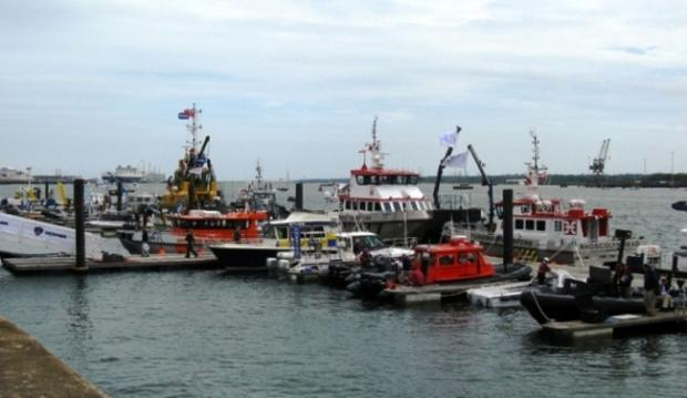 The annual Seawork exhibition