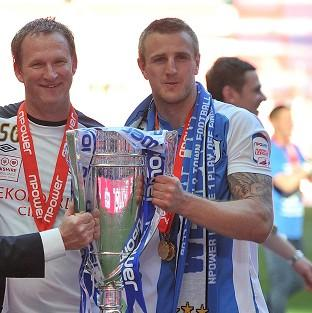 Simon Grayson (left) and Peter Clarke