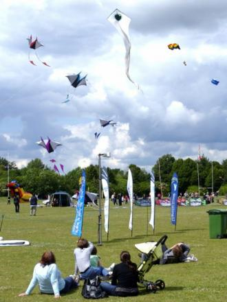 Basingstoke Kite Festival is a popular annual attraction