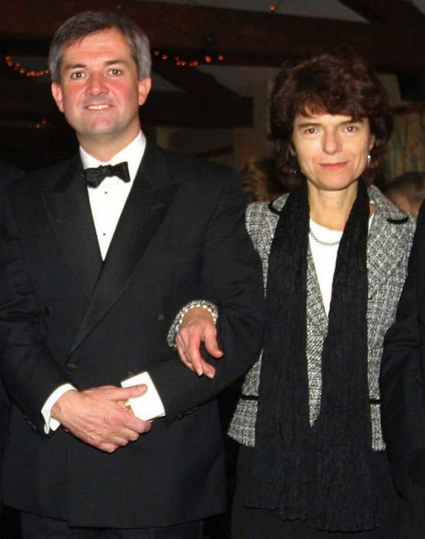 Eastleigh MP Chris Huhne with ex-wife Vicky Pryce pictured in 2005.
