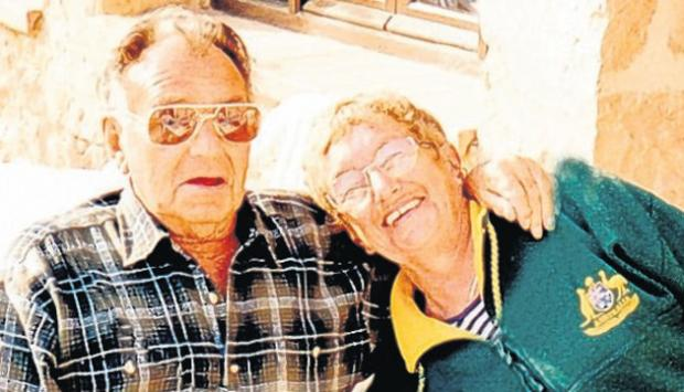Reginald and Joyce enjoy their life in Alicante.
