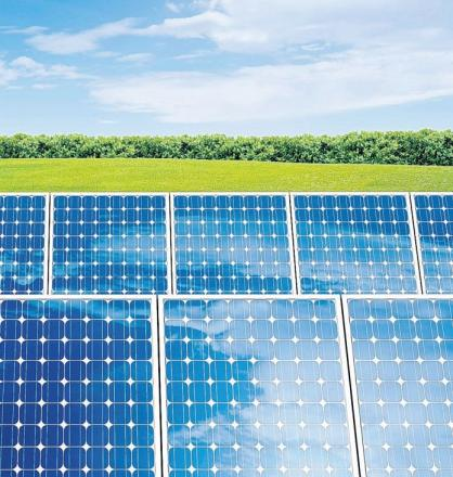 Estate creates huge solar panel farm