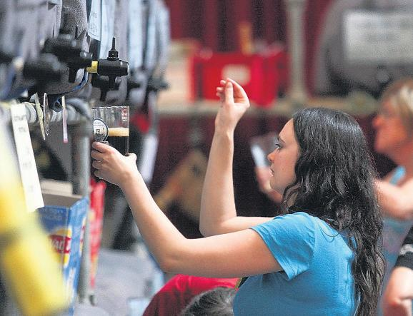Thousands raise a glass at popular beer festival