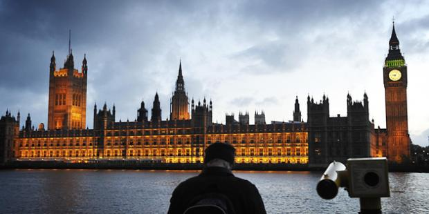 The Palace of Westminster, better known as the Houses of Parliament