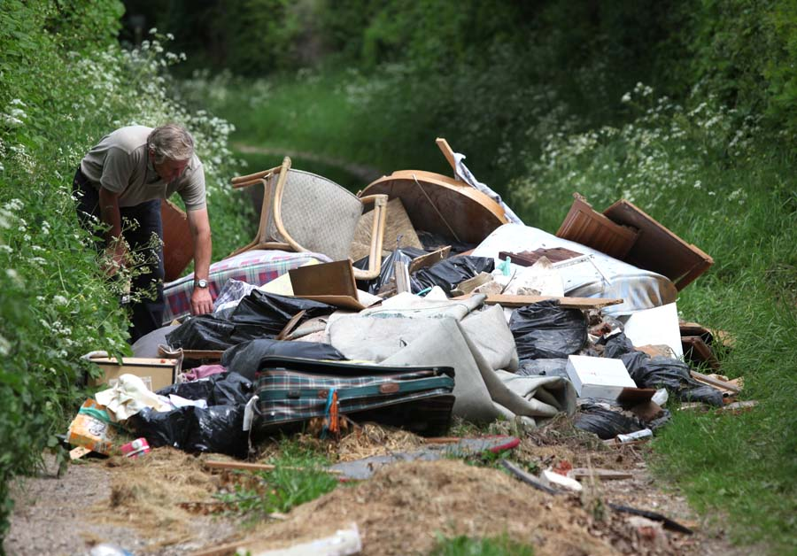 The illegal flytipping no-one wanted to investigate