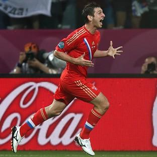 Alan Dzagoev bagged a brace as Russia put Czech Republic to the sword