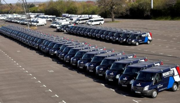 Mountjoy's new look Ford fleet built in Southampton