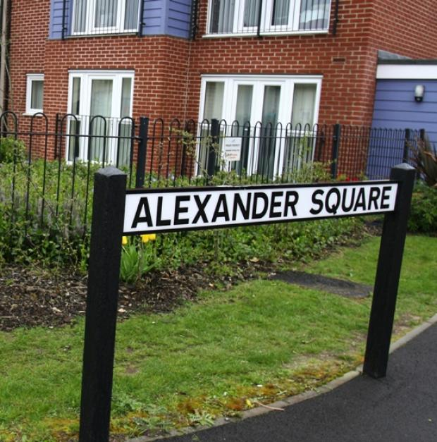 Alexander Square, Eastleigh.