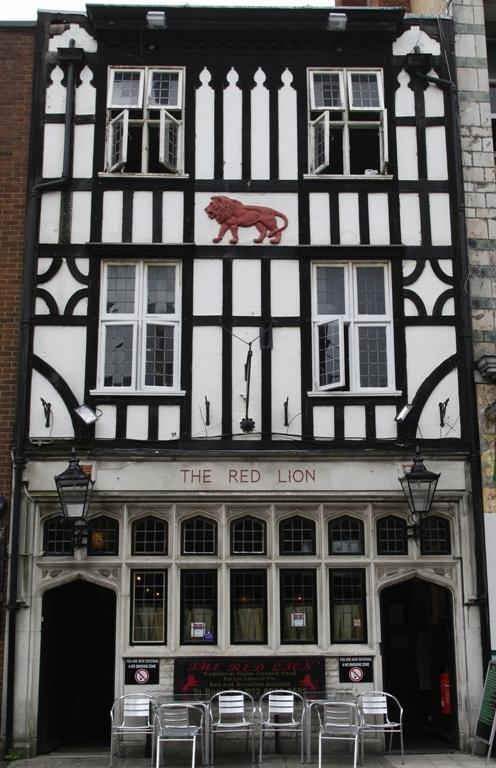 The historic Red Lion in Southampton