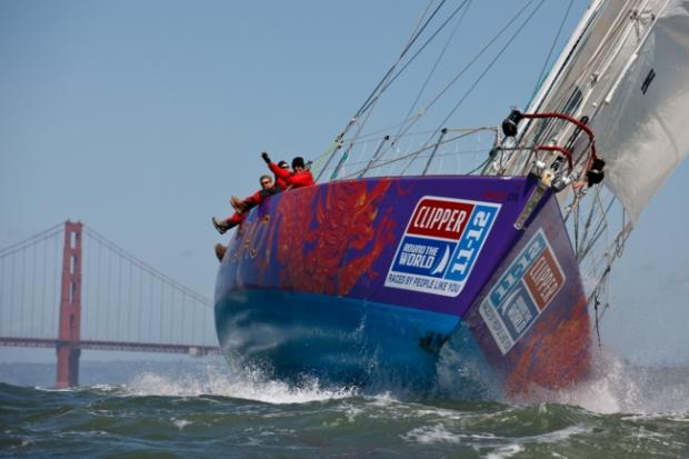 The Qingdao Clipper racing yacht