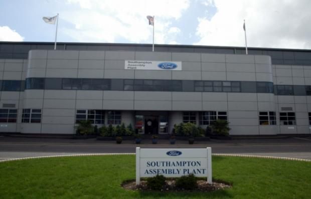 Ford's Southampton assembly plant