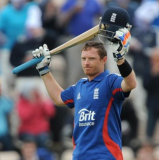 Ian Bell has scored his second century for England in a one-day international