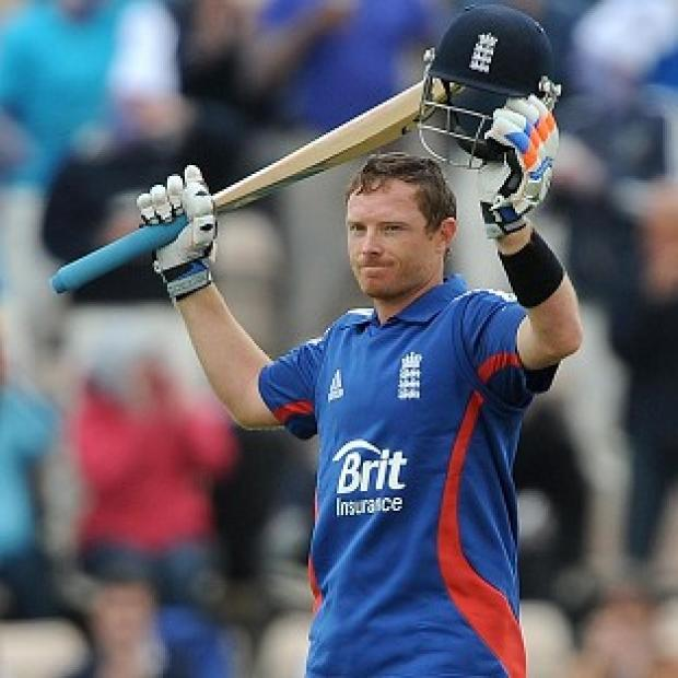 Ian Bell hit a century during the first One Day International against West Indies