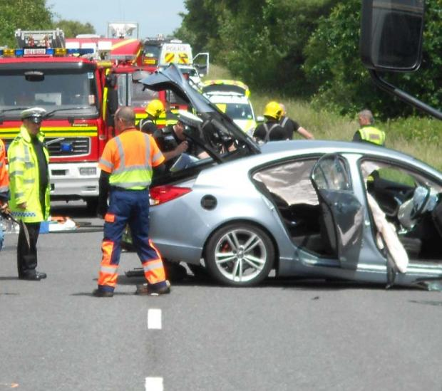 Arrest over A35 death crash