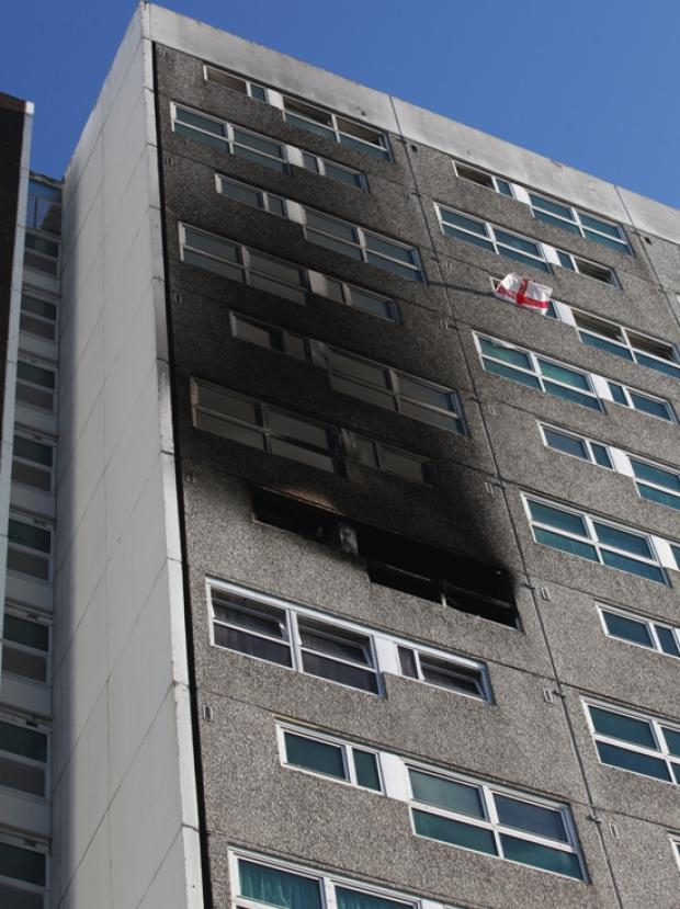 'Bedlam' inside Shirley Towers the night firefighters died