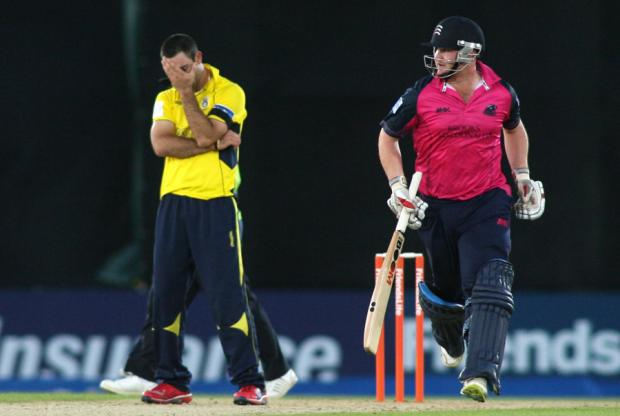 Hampshire suffer rare t20 home defeat