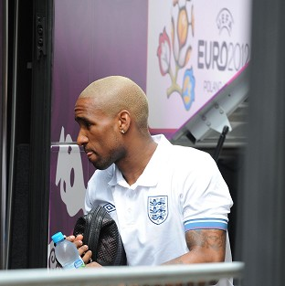 Jermain Defoe was a late substitute against France in Donetsk