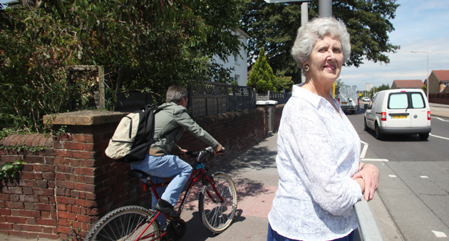 Pensioner left unconcious for two days by cyclist