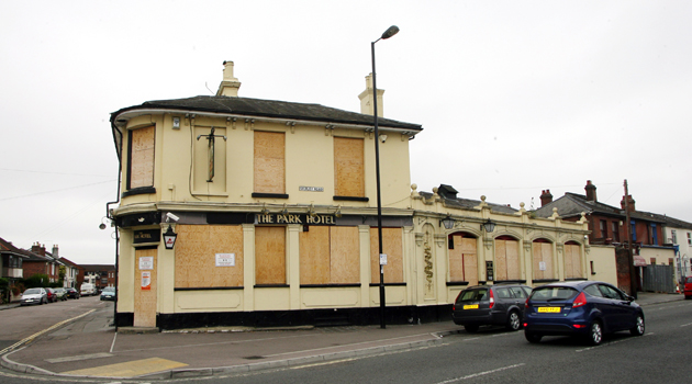 Pub damaged by suspected arson attack