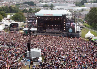 Isle of wight Festival 2012