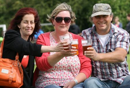 Weekend in Pictures June 23-24. Kings Somborne Beer and Music Festival.