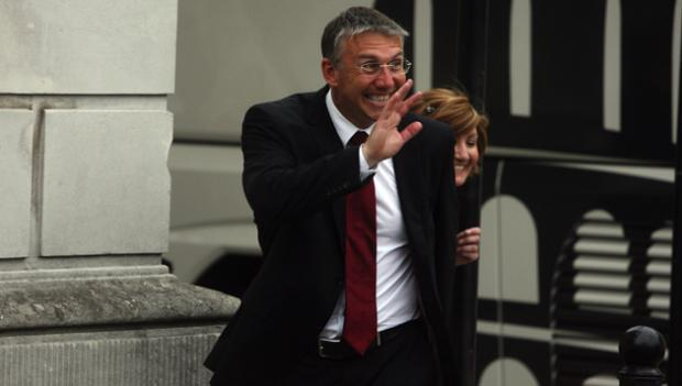 Nigel Adkins will be welcoming his squad back to training today