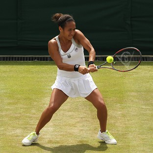 Heather Watson faces Agnieszka Radwanska for a place in round three