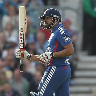 Ravi Bopara (pictured) and Ian Bell shared a stand of 90 in England's victory over Australia