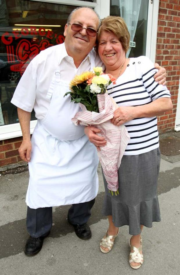 George hangs up his apron after 40 years