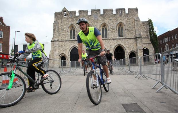 A previous Sky Ride in Southampton