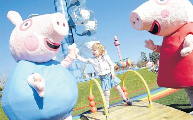 Peppa Pig World at Paultons Park