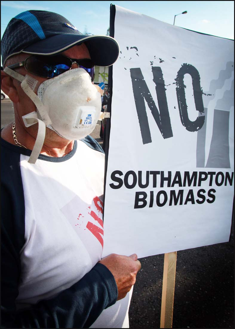 Biomass victory is just the start say Southampton activists