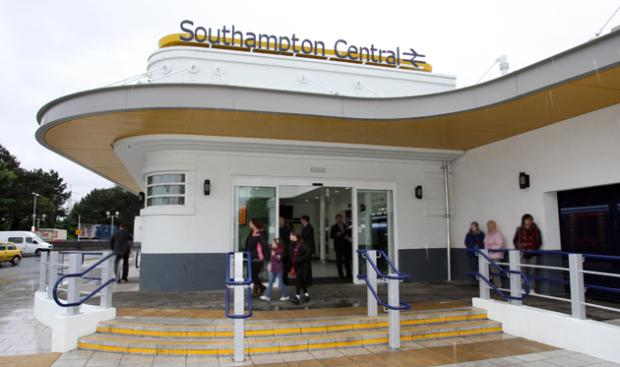 Southampton Central Train Station, south entrance