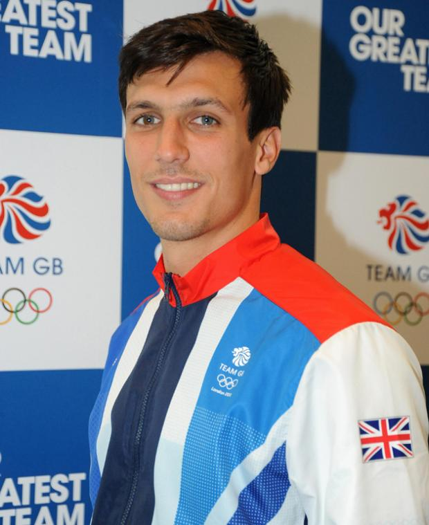 Jack Cork in his Team GB tracksuit