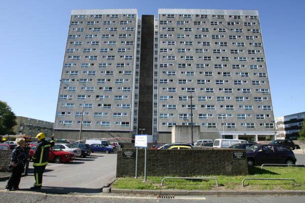 Shirley Towers in Southampton