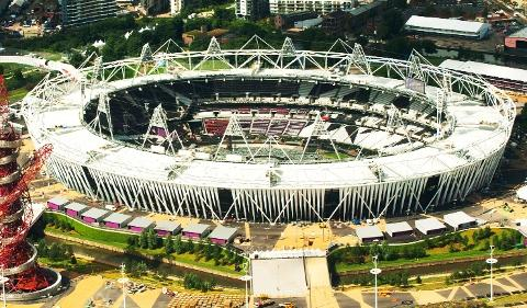 Daily Echo: The Olympic Stadium in London