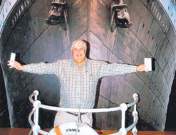 The Australian billionaire, Clive Palmer, who plans to build Titanic II, reveals plans and blueprints for the ambitious project.