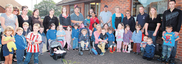 Parents' anger at imminent closure of pre-school