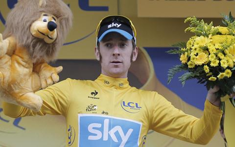 Wiggins takes Tour de France title