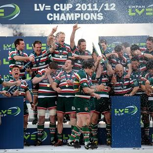 Leicester Tigers begin their defence of the LV= Cup against Saracens