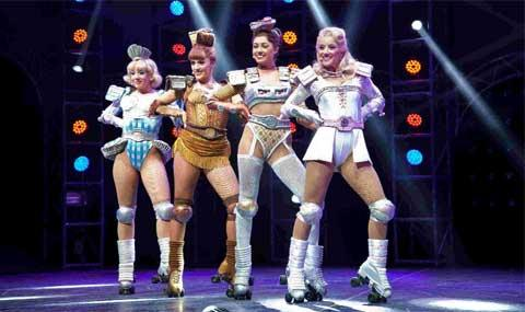 Starlight Express cast in action