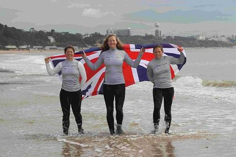 Our local Olympians: Kate Macgregor, Lucy Macgregor and Annie Lush - Sailing